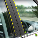 127*10 Cm 3D Carbon Fiber Car Body Color Film Automotive Car Interior Modeling Decoration Stickers Auto Products Car Accessories
