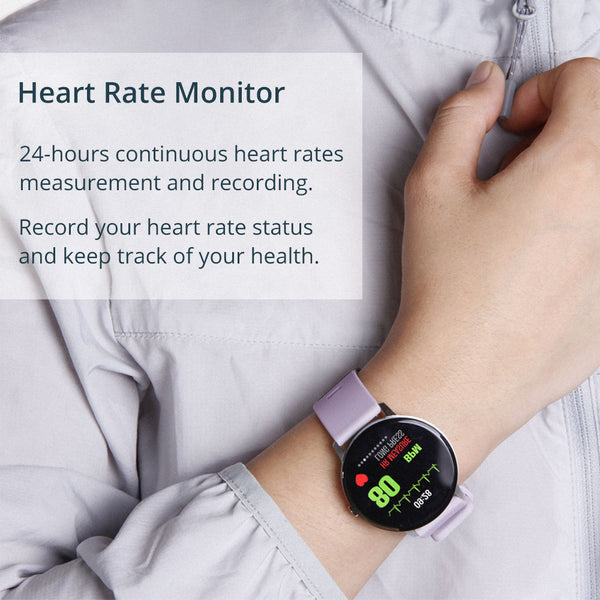 COLMI V11 Smart watch IP67 waterproof Tempered glass Activity Fitness tracker Heart rate monitor BRIM Men women smartwatch