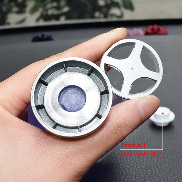 Car Air Purifier Bottle Perfume Scent Smell Diffuser Automotive Interior Air Freshener