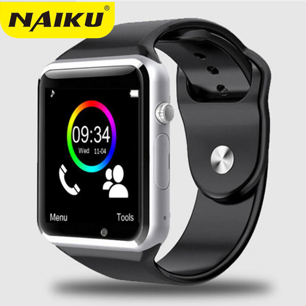 NAIKU Factory A1 WristWatch Bluetooth Smart Watch Sport Pedometer with SIM Camera Smartwatch For Android Smartphone Russia