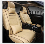 PU Leather Automotive Universal Car Seat Covers set Fit seat cover accessories for MAZDA 3 Mazda 6 CX5 CX7 323 626 M2 carstyling