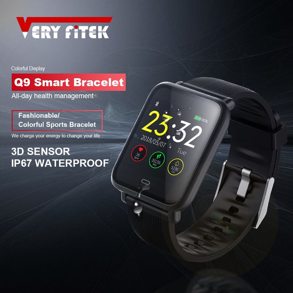 Blood Pressure Heart Rate Monitor Smart Watch