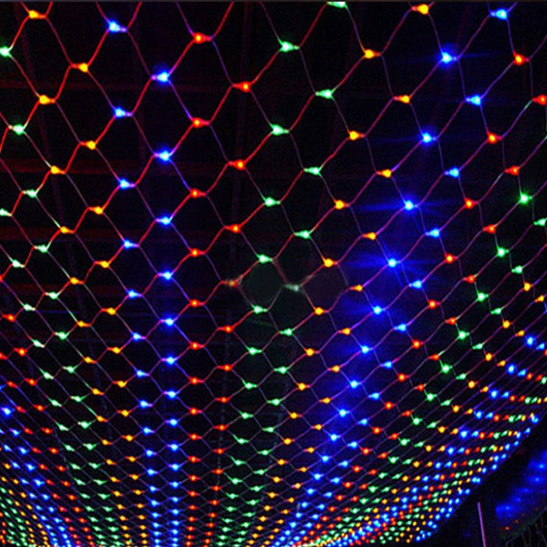 String Lights 3M x 2M 200 LEDs Net Mesh Fairy Twinkle flash lamp