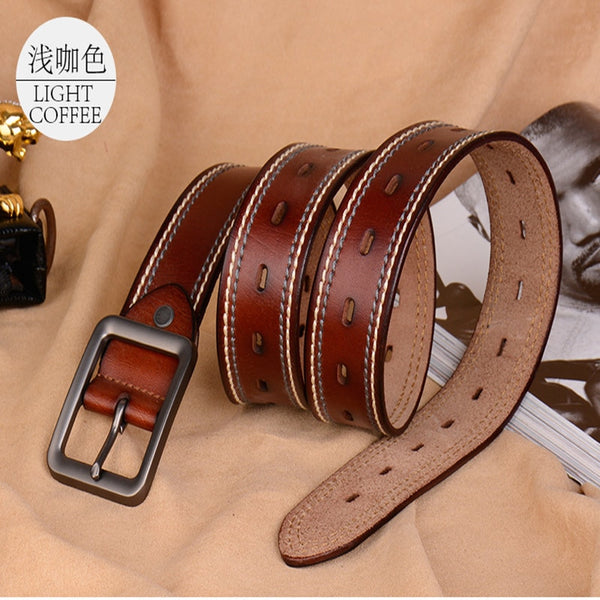 Clothing Accessories High-Class Fashion Pin Buckle Men's Belt