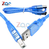 USB 2.0 Printer Cable Type A Male to Type B Male Dual Shielding High Speed For Computer/Printer/Fax Lead Connector
