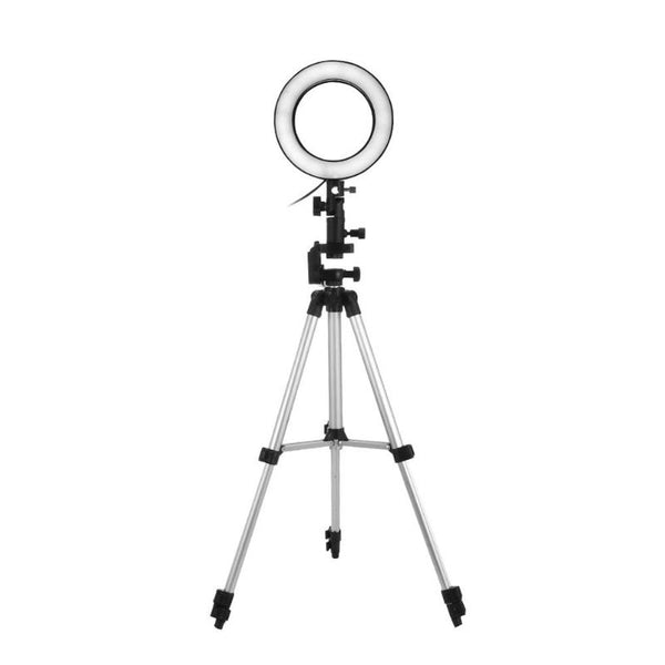 Studio Camera Ring Light Lamp with Tripods