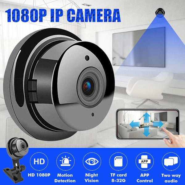 1080P HD 3.6mm Clear Wired Wireless Mini Security Wifi Security IP Camera Night Vision Smart Home Video System Baby Monitor