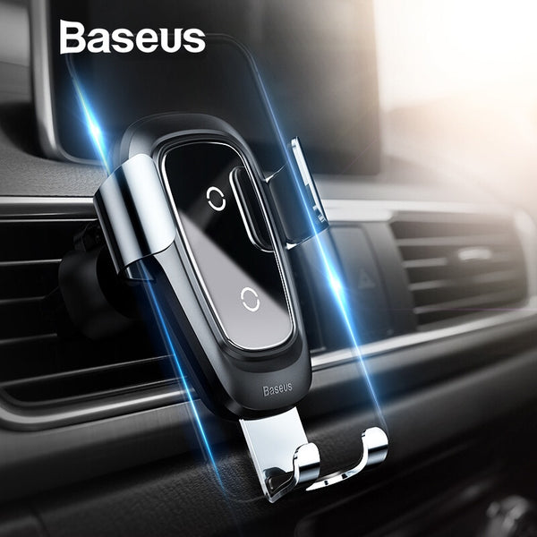 Wireless Charger Air Vent Mount Car Phone Holder for iPhone X 8 Samsung Mobile Phone