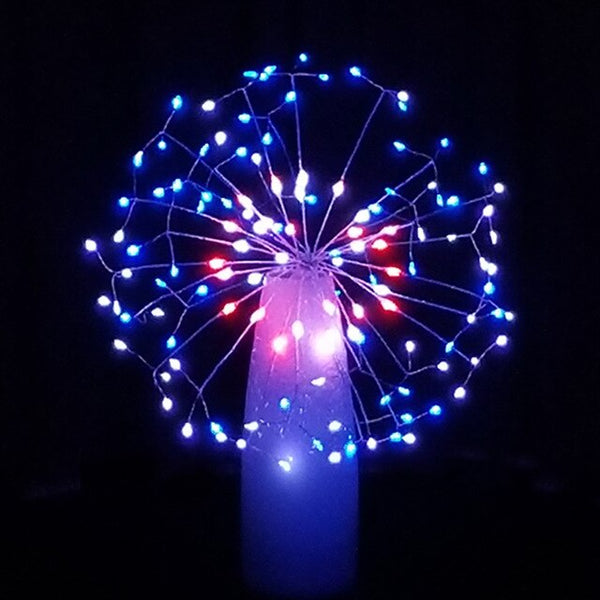 LED String Light AA Battery 8 Modes Twinkle night lamp