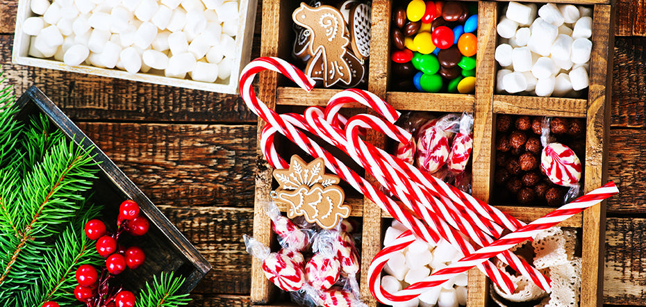 What is the most popular Christmas Candy in America?