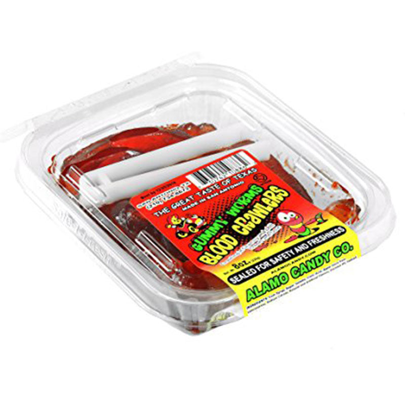 Alamo Candy Gummi Worm Blood Crawler 8oz