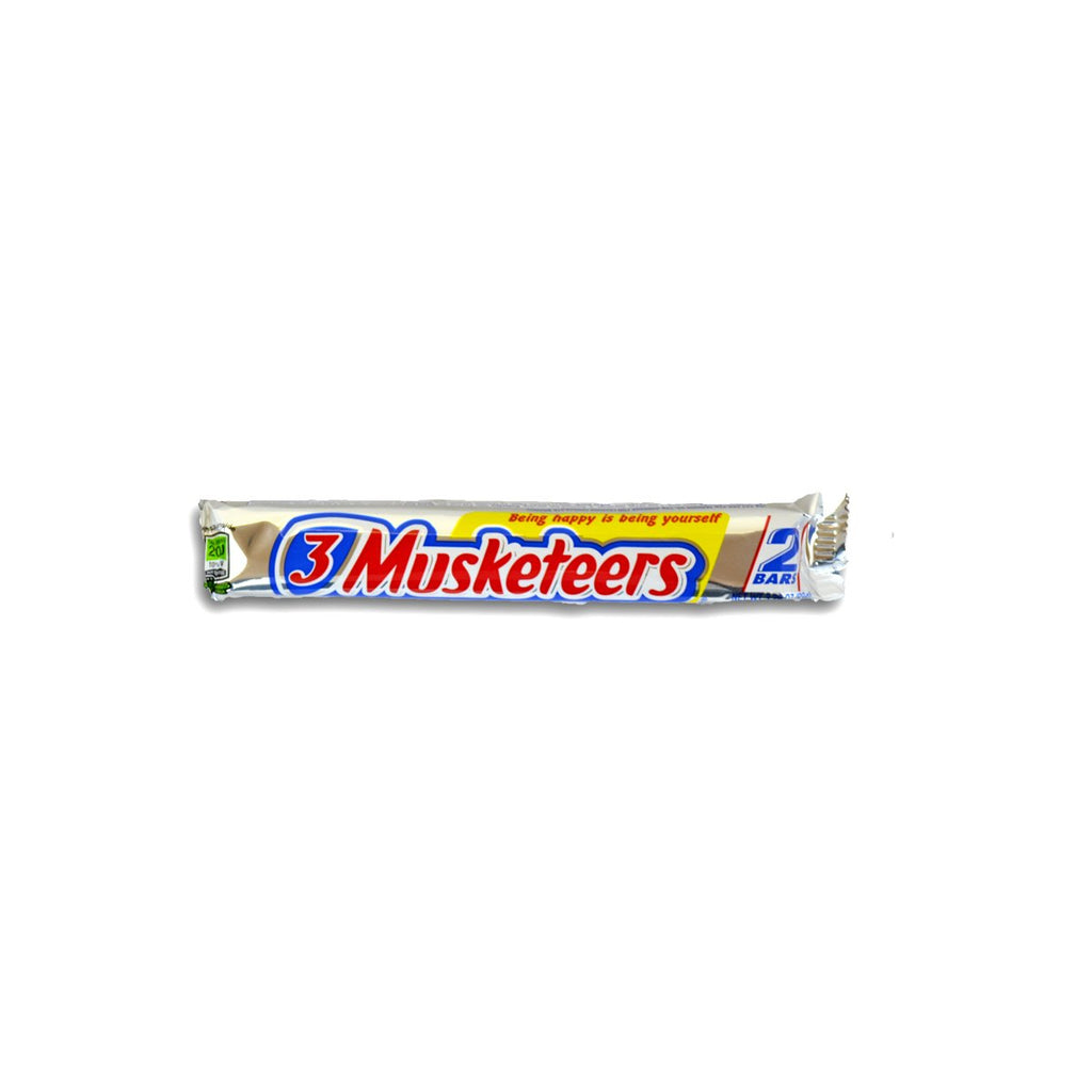 3 Musketeers King Size Chocolate 3.28oz