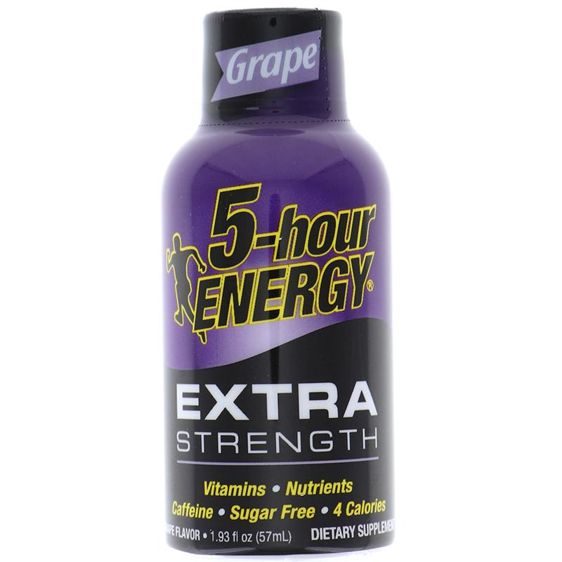 5 Hour Energy Extra Strength - Grape 1.93 Oz