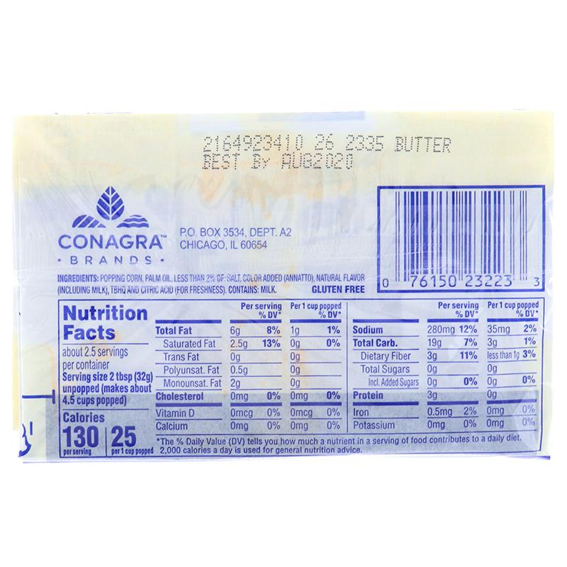 Act Ii Popcorn Butter 2.75 Oz