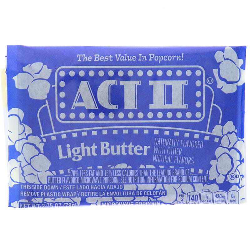 Act Ii Popcorn Light Butter 2.75 Oz