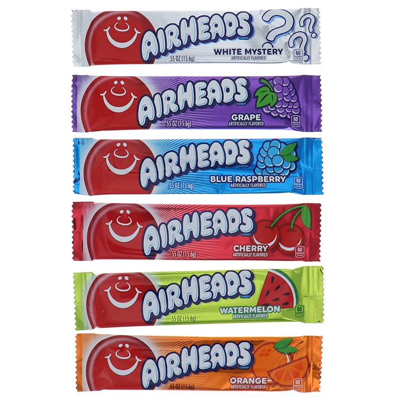 Airheads Changemaker Variety Bars 0.55 Oz Assorted 6 Pcs