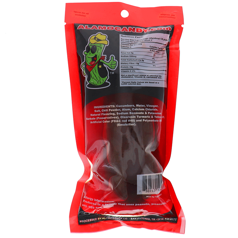 Alamo Big Tex Dill Pickle In Chamoy 1 Ct