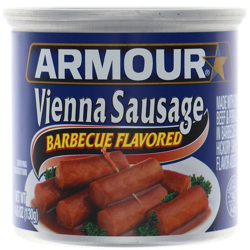 Armour Vienna Sausage Barbeque - Can 4.6oz