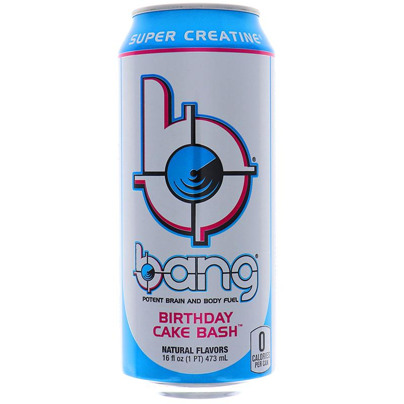 Bang Energy Drink Birthday Cake Bash 16oz