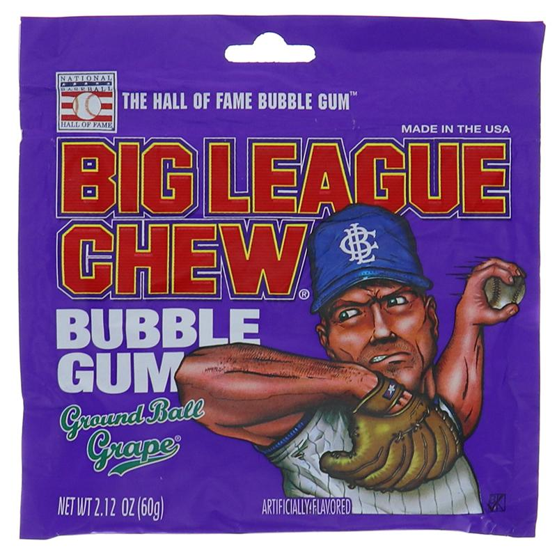 Big League Chew Grape 2.12oz