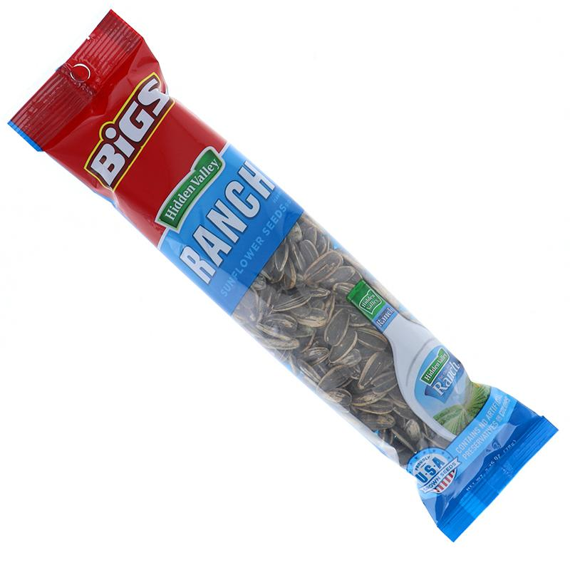Bigs Sunflower Seeds Ranch - Tube 2.75 Oz