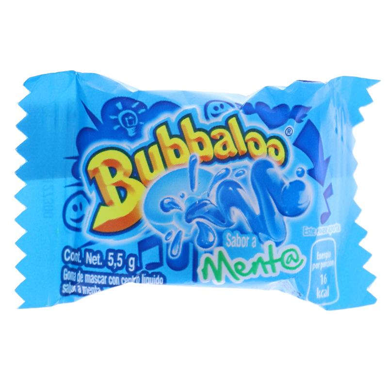 Bubbaloo Chewing Gum Menta Menthol