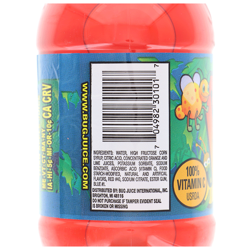 Bug Juice Fruit Punch 10 Oz