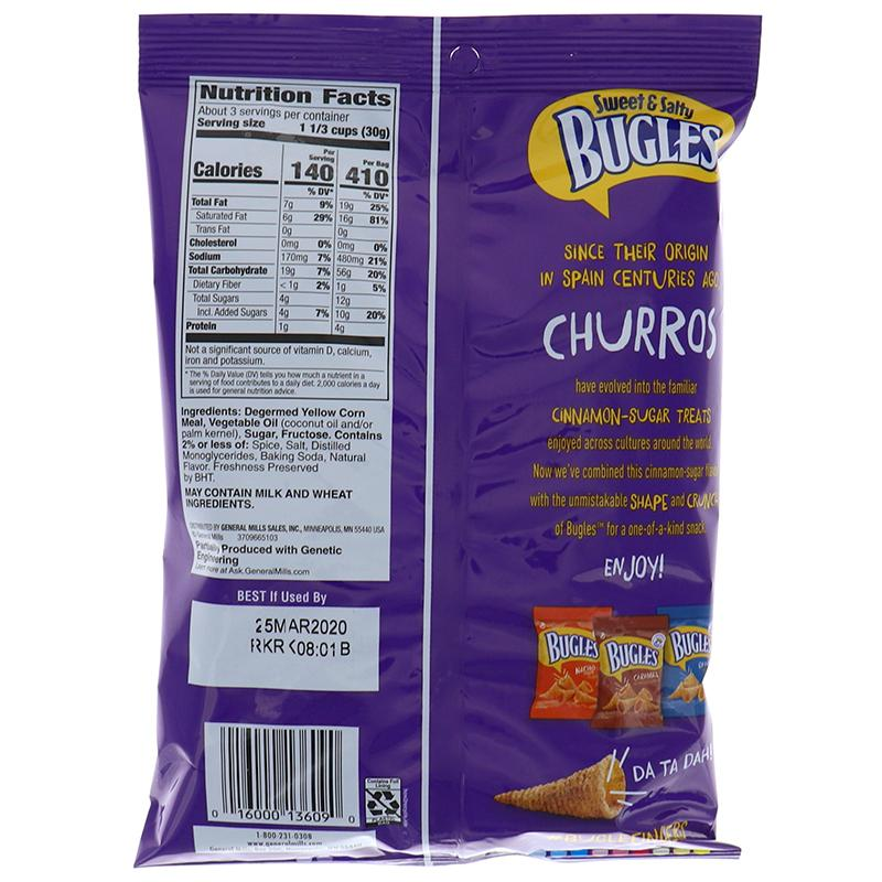 Bugles Churros 3oz