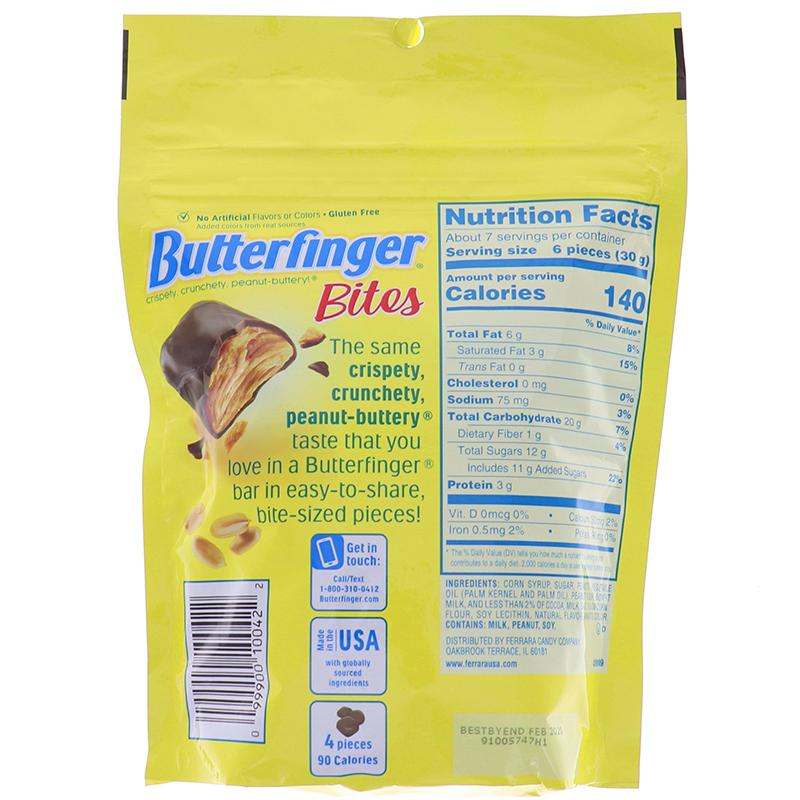 Butterfinger Bites - Pouches 8oz