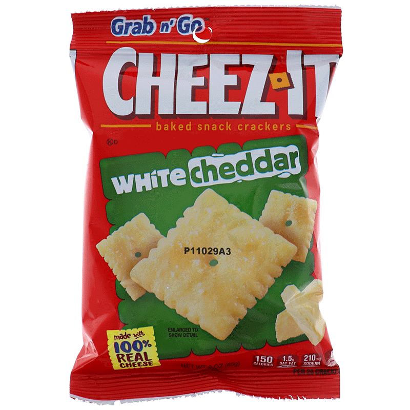 Cheez It White Cheddar, Cookie