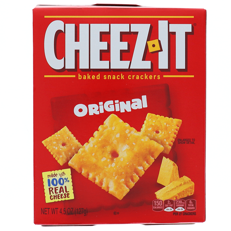 Cheez It Original, Cookie