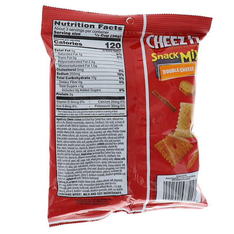 Cheez-It Snck Mix By Cheez-It Cookie