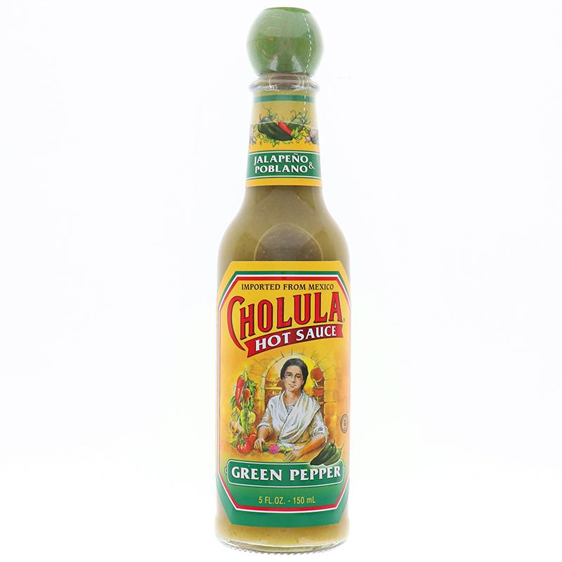 Cholula Hot Sauce Green Pepper 5oz