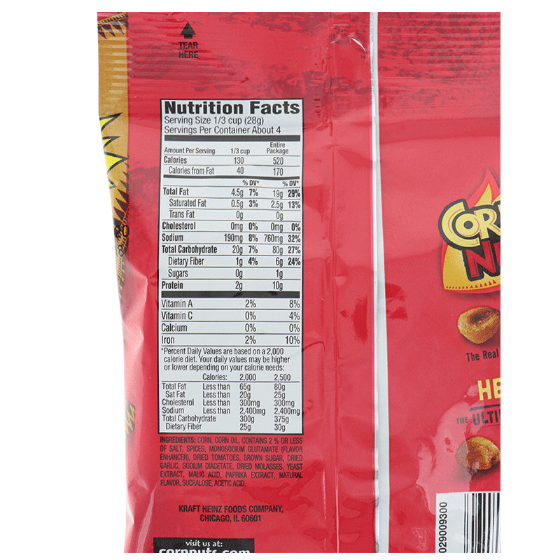 Cornnuts Barbecue 4 Oz