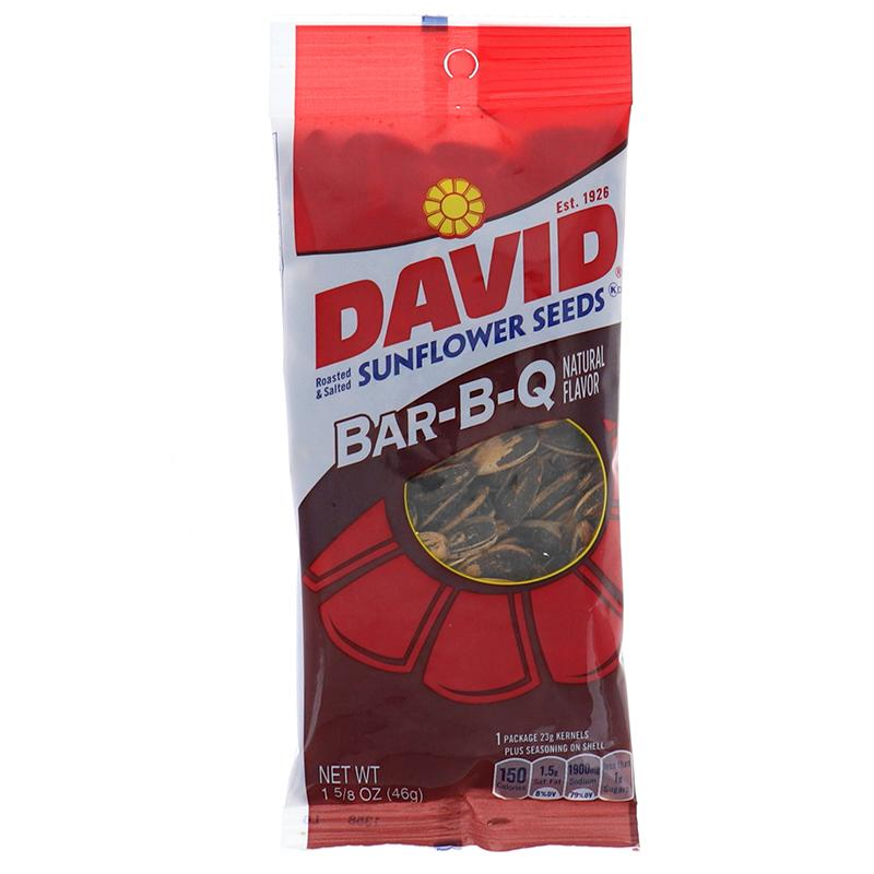 David Sunflower Seeds Bbq 1.625 Oz
