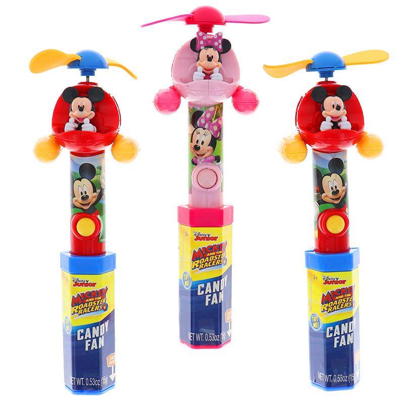 Disney Mickey Mouse Clubhouse Candy Fan Assorted 3 Pcs