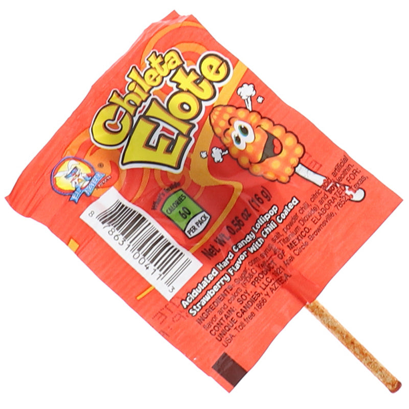 El Azteca Chileta Lollipops Elote With Chili .56oz