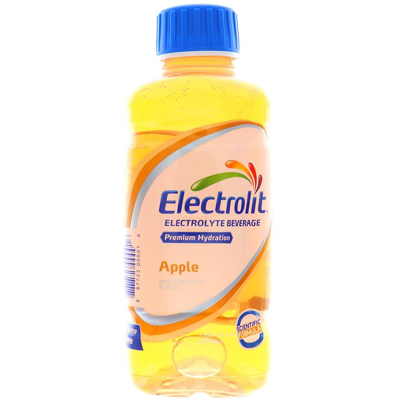 Electrolit Hydration Beverage Drink W/Electrolyte Apple Flavor 21oz