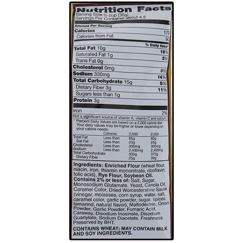 Gardettos Roasted Garlic Rye Chips 4.75oz