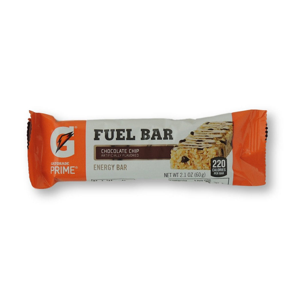 Gatorade Prime Fuel Bar Chocolate Chip 2.1 Oz
