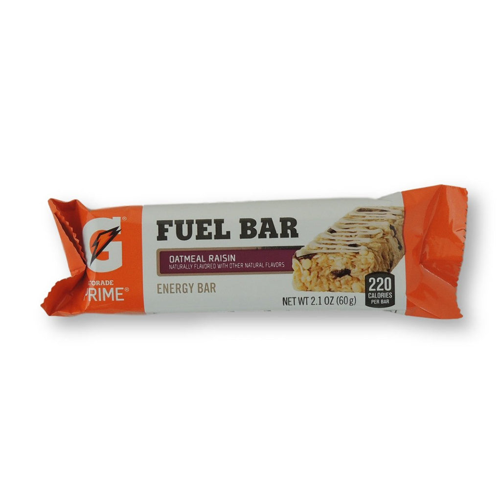 Gatorade Prime Fuel Bar Oatmeal Raisin 2.1 Oz