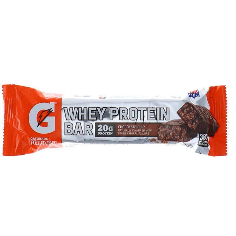 Gatorade Recover Whey Protien Bar Chocolate Chip