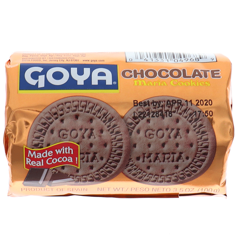 Goya Chocolate Maria Cookies