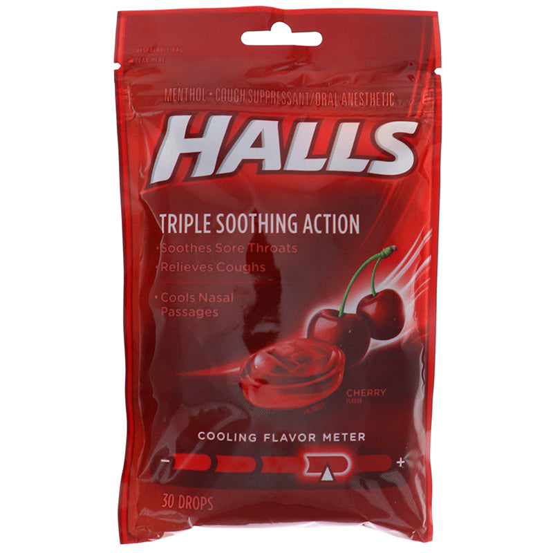 Halls Cherry - Bag 30drops