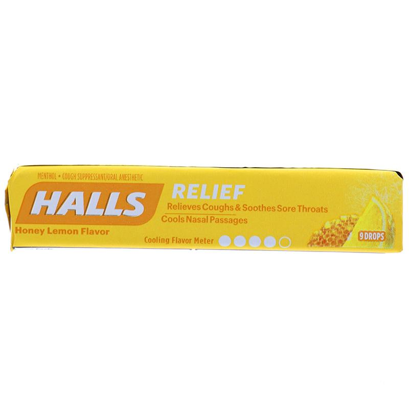 Halls Honey Lemon 9 Drops