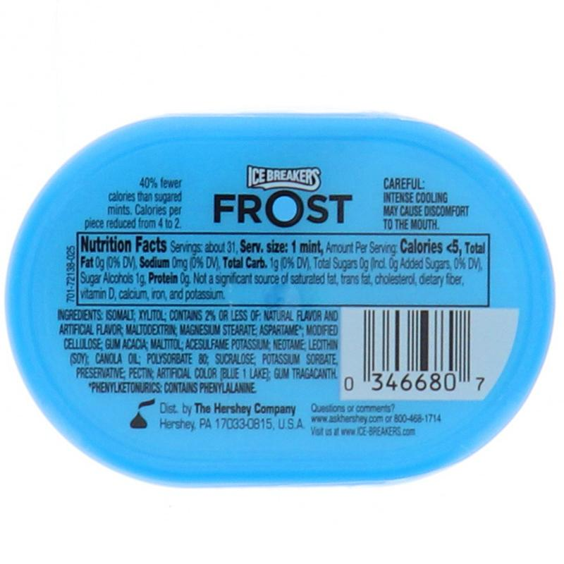 Ice Breakers Frost Mints Peppermint - Can 1.2oz