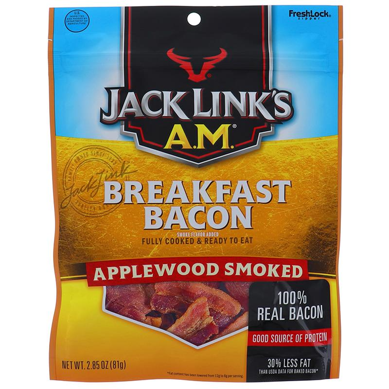 Jack Link Am Breakfast Bacon Applewood Smoke 2.85oz