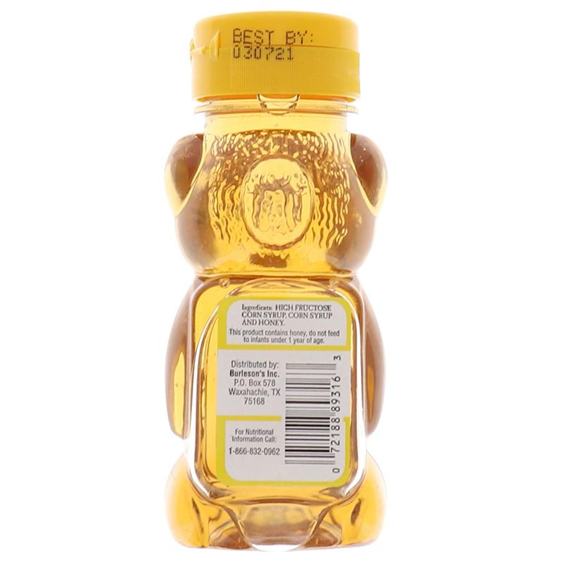 Junior Bear Honey Flavored Syrup 8oz