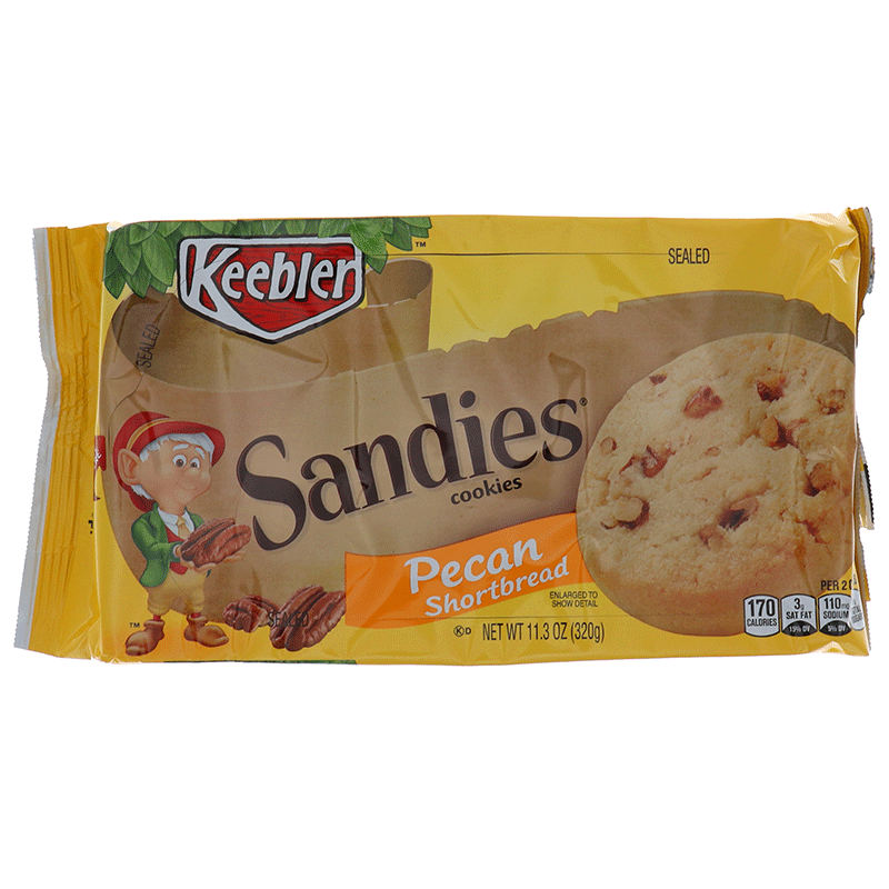 Keebler Sandies, Cookies Pecan Shortbread