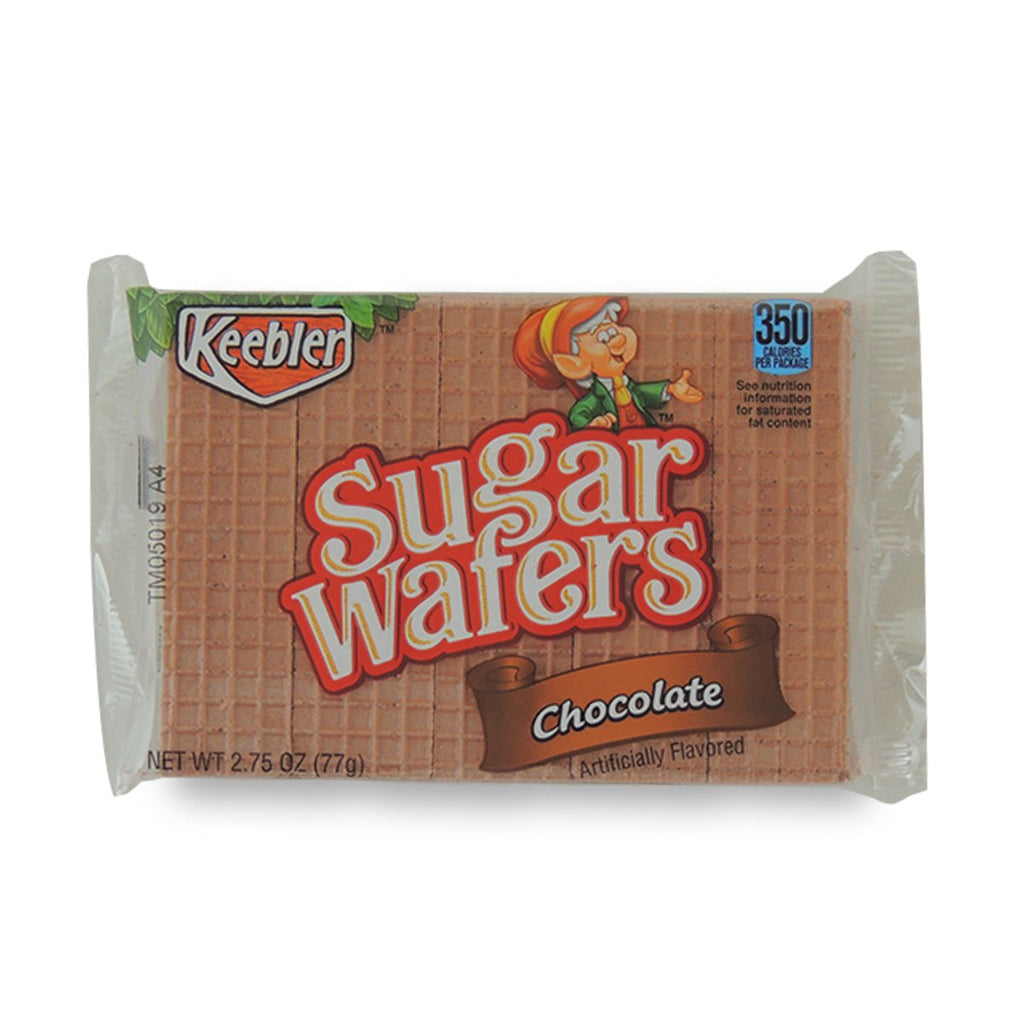 Keebler Sugar Wafers Chocolate Sugars 2.75 Oz